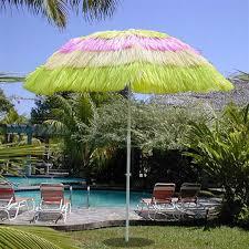 Tiki Patio Umbrella 6 Multi Color Outdoor Tiki Thatch Patio Umbrella W Tilt