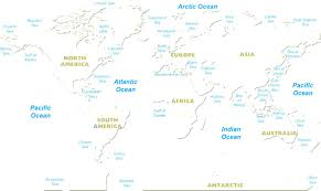 World Map With Continents And Oceans by World Map Outline Printable For Kids Photo Blank Of Continents And