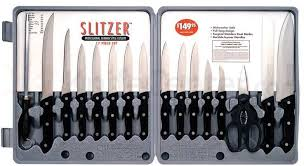 maxam kitchen knives maxam slitzer 17 cutlery set knifecenter bfctsz17