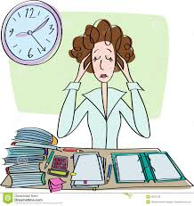 Student At Desk by Exhausted Teacher Clipart Clipartxtras