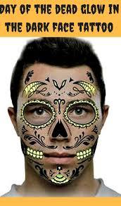 sugar skull temporary on a