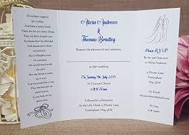 gatefold wedding invitations handmade personalised gatefold wedding invitations with ribbon and