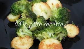 cuisiner brocolis a la poele poêlée de pomme de terre et de brocoli recette accompagnement pomme