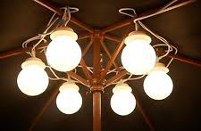 Awning String Lights 8pc Gazebo Marquee Tent Large Hanging Globe String Lights Garden
