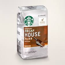 decaf house blend starbucks coffee at home