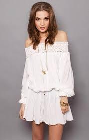 the shoulder summer dresses