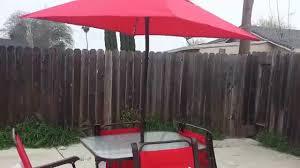 6 Piece Patio Dining Set - mainstays searcy lane patio set youtube
