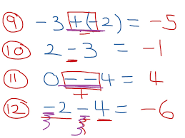 showme subtracting integers t chart