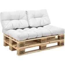 palette canapé 3x coussin de siège coussin de dossier pour canapé palette