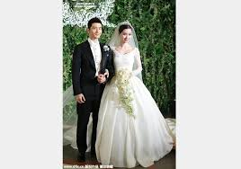 his and wedding wedding ceremony of huang xiaoming and angelababy 1 chinadaily
