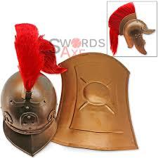 praetorian guard roman helmet u0026 shield set 19g carbon steel brazen