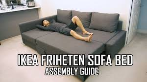 Full Review Of The IKEA FRIHETEN Sofa Bed Is Available Here Https - Friheten sofa bed review