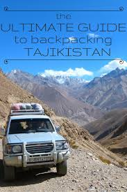 the ultimate guide to backpacking tajikistan goats on the road