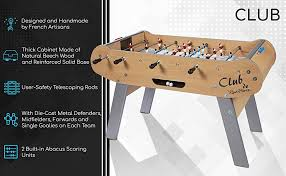 Amazon Foosball Table Amazon Com René Pierre Club Foosball Table With Safety