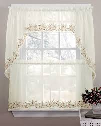 Sheer Embroidered Curtains 16 Best Sheer Kitchen Curtains Images On Pinterest Kitchen