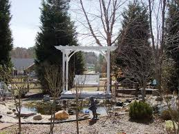 Pergola With Swing by Pergolas And Furniture