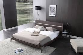 Furniture Design Bedroom Sets Nova Domus Ria Contemporary Brown Eco Leather U0026 Stainless Steel