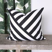 a classic black and white stripe fabric that u0027s perfect for drapery