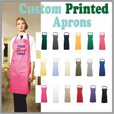 Screen Printed Aprons Custom Personalised Clothing Mantra Design Print