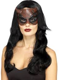 womens masquerade devil mask 45090 fancy dress ball