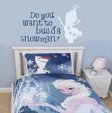 this frozen comforter set is good for frozen room decor click