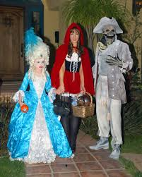 family and baby halloween costumes lily sheen photos photos kate beckinsale and family in halloween