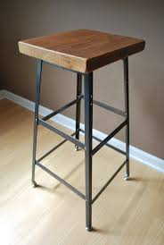 Reclaimed Wood Bar Stool Decor Intersting Boston Bar Stool For Kitchen Furniture Ideas