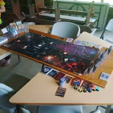 Desk Job Game by Board Size Firefly The Game Boardgamegeek