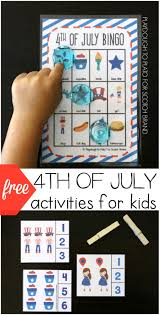 free 4th of july activities for kids playdough to plato