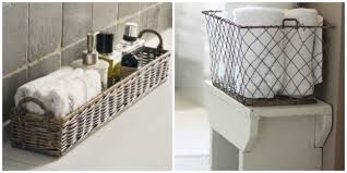 Bathroom Basket Ideas Bathroom Baskets To Get Organised Diy Decorator