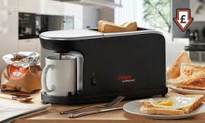 Toaster Machine Cooks Professional Toast Maker Groupon