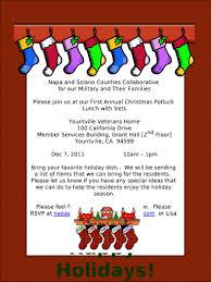 thanksgiving potluck invitation potluck lunch invitation wording