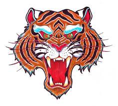 alpha tigerteeth motivation flash tattooflash