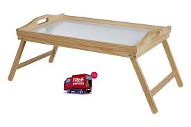 breakfast in bed table breakfast in bed tray solid wood bed table with folding legs 21 x 50