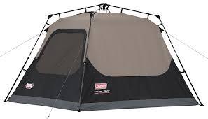 amazon com coleman 4 person instant cabin family tents
