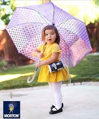 Umbrella Halloween Costume Wear Yellow Ensemble Carry Umbrella Morton