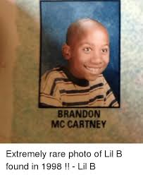 Lil B Memes - brandon mccartney extremely rare photo of lil b found in 1998
