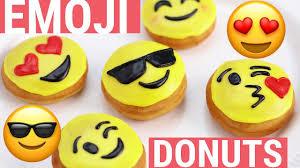 how to make emoji donuts nerdy nummies youtube