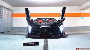 Lamborghini Veneno Black - black lamborghini veneno lp750 4 roadster front doors up