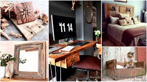 49 insanely smart reclaimed wood furniture and decor projects for