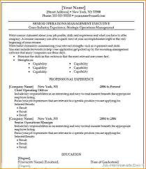 Free Template Resume Microsoft Word Free Resume Templates Free Resume Template Resume