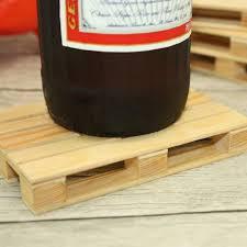 Beverage Coasters Aliexpress Com Buy 4 Pieces Lot Pallet Wood Beverage Coasters