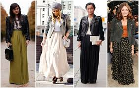 what to wear with maxi skirts in fall and winter stiletto jungle