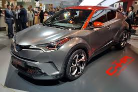 crossover toyota crossover gets cross c hr hy power concept shows what u0027s up