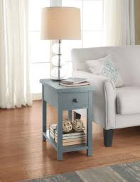 Tall Bedside Tables by Side Table With Drawers