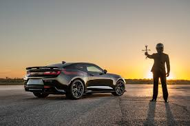 hennessy camaro terrorize hellcats with hennessey s exorcist chevrolet