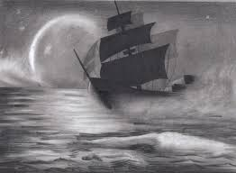 pencil sketch of pirate ship photo image by spomo u fliiby