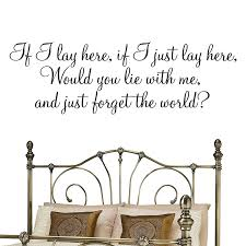 if i lay here if i just lay here snow patrol lyrics wall snow patrol lyrics wall quote medium amazon co uk diy tools