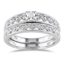 silver wedding rings miadora sterling silver wedding ring with diamondwedwebtalks
