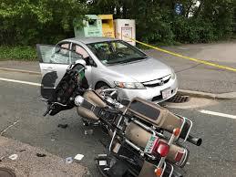 3 injured in crash involving car motorcycle nbc boston